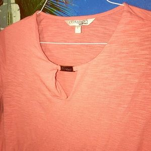 """Pink women's blouse by """"company"""" sized large"""